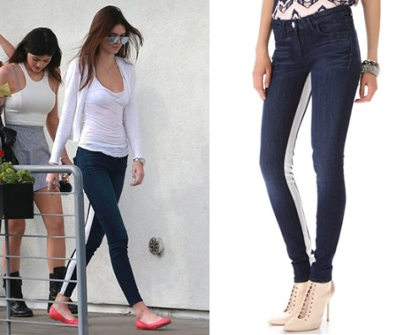 3x1 W3 Channel Seam Skinny Jeans as seen on Kendall Jenner