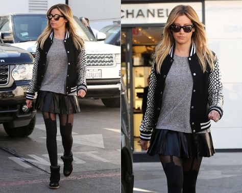 ashley-tisdale-Skingraft-python-cut-varsity-jacket