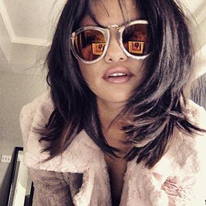 selena-gomez-Karen-Walker-Limited-Edition-Harvest-Gold-Sunglasses