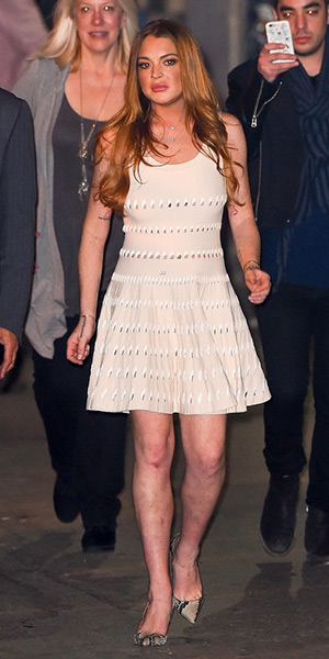 lindsay-lohan-alaia-short-dress