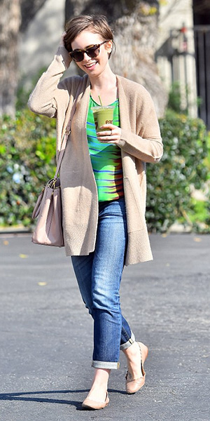 lily-collins-inhabit-Boiled-Wool-Cardigan