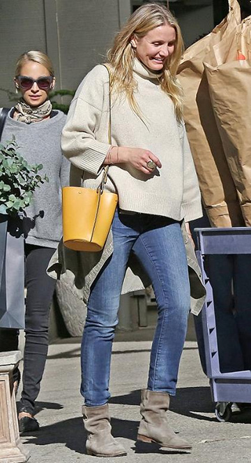 Ström Thundra Tio Ankle Skinny Jeans as seen on Cameron Diaz
