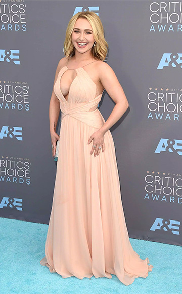 Maria Lucia Hohan Jawakalua Evening Dress as seen on Hayden Panettiere