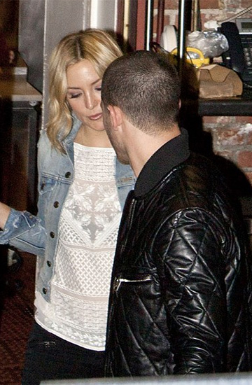 Isabel Marant Allen Gipsy Silk Georgette Top as seen on Kate Hudson