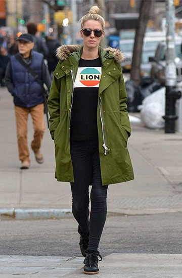 Bella Freud Lion Stripe Sweater as seen on Nicky Hilton