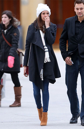 Stuart Weitzman The Grandiose Booties as seen on Nina Dobrev