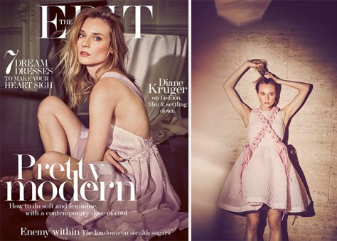 Diane Kruger x Net-A-Porter The Edit March 2016