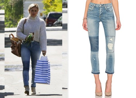 AMO Keepsake Babe Jeans as seen on Hilary Duff