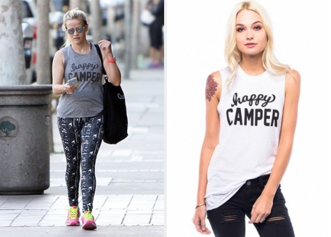 Sub_Urban Riot Happy Camper Muscle Tank as seen on Reese Witherspoon