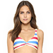 Solid & Striped Jane Bikini Top in Americana Stripe