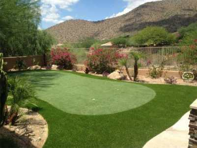 AZ backyard putting green