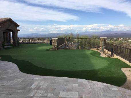 phoenix az artificial grass putting green