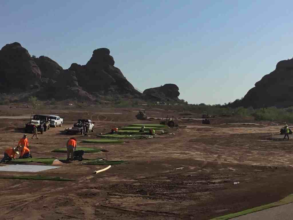 Phil Mickelson designed target course at ASU under construction