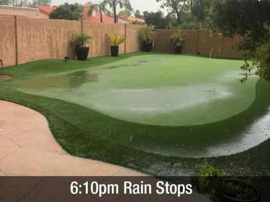 6:10pm rain stops