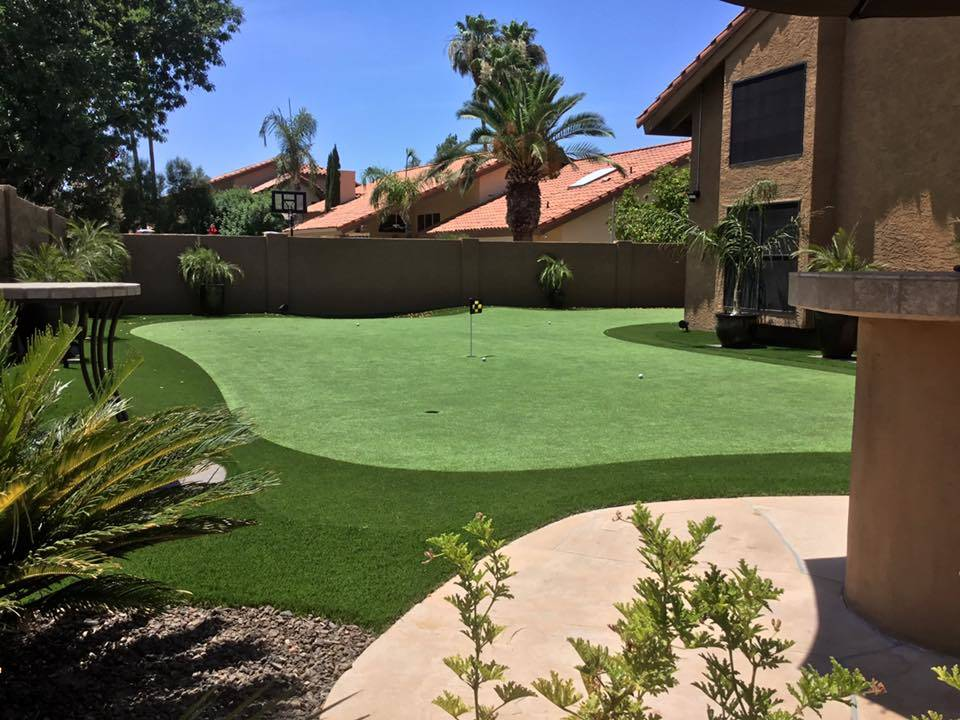 ... Celebrities, Elite Athletes And Avid Golfers Has Allowed Weber And His  Dedicated Team To Install Signature Backyard Golf Putting Greens And  Synthetic ...