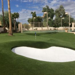 backyard putting green arizona