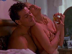 Tanya Roberts naked in hot sex scene