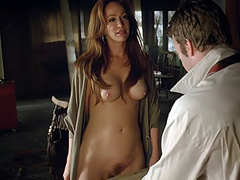 Rebecca Creskoff showing full frontal nudity