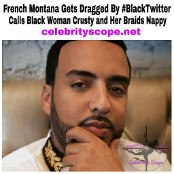 French Montana Claps Back and is Dragged By Black Twitter, Calls Woman Nappy Head