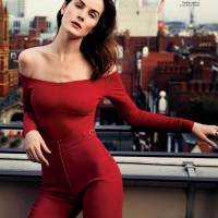 Michelle Dockery in Instyle Magazine March 2017
