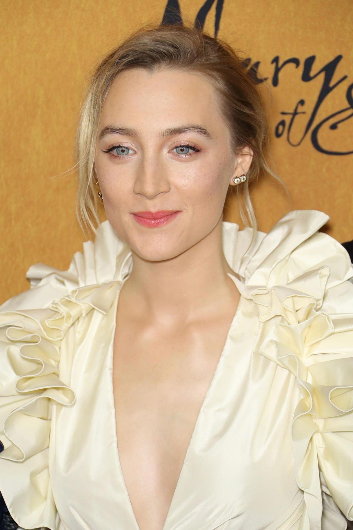 Saoirse Ronan at Mary Queen of Scots Premiere in New York 2018/12/04