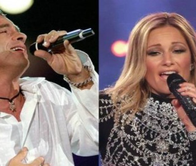 Helene Fischer And Eros Ramazzotti Great Appearance In Their Christmas Show