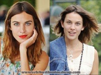 alexa chung celeb without makeup 4