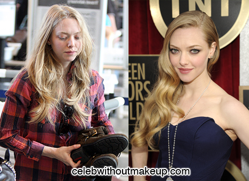 Amanda Seyfried Celeb Without Makeup 1