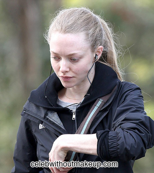 Amanda Seyfried Celeb Without Makeup 3