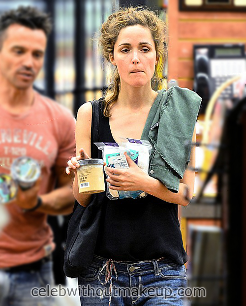 Rose Byrne No Makeup Face