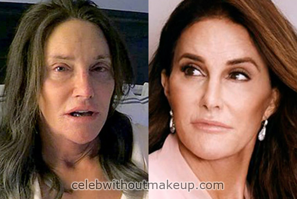 Caitlyn Jenner Without Makeup Celeb Without Makeup