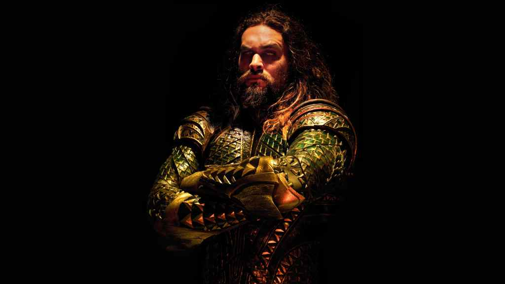 Jason Momoa Aquaman Justice League Movie Wallpaper Poster 2018 Min