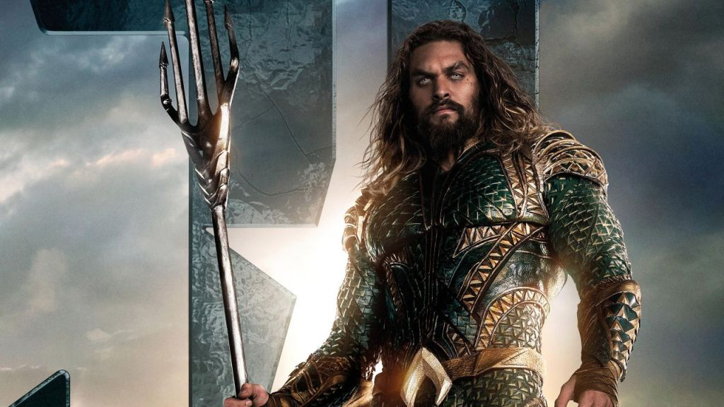 Jason Momoa With Aquaman Suit Movie Poster 2018 Min