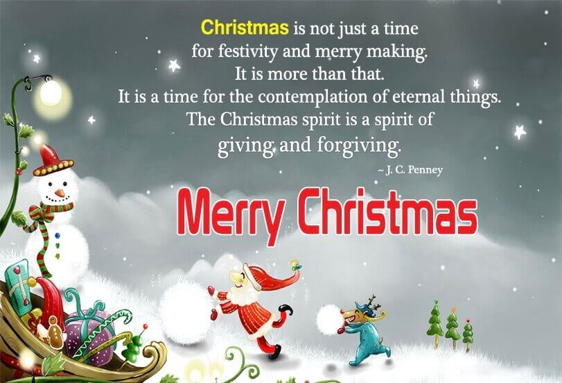 Merry Christmas Wishes Sayings Quotes