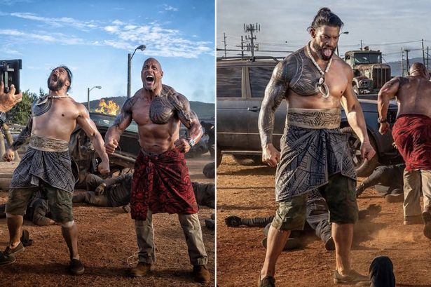 Roman Reigns Fast And Furious Movie
