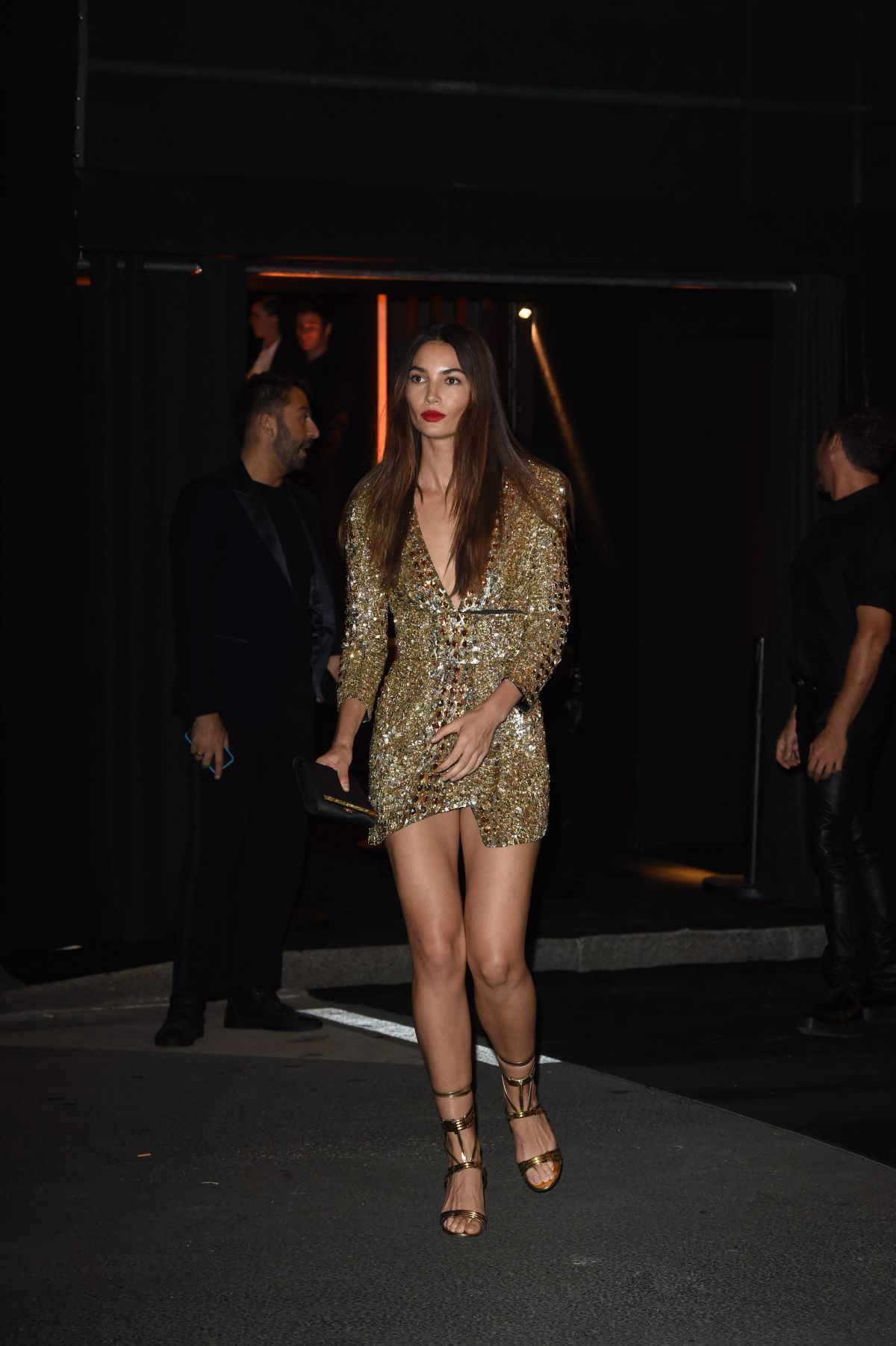 Lily Aldridge At Vogue 95th Anniversary Party Celebzz