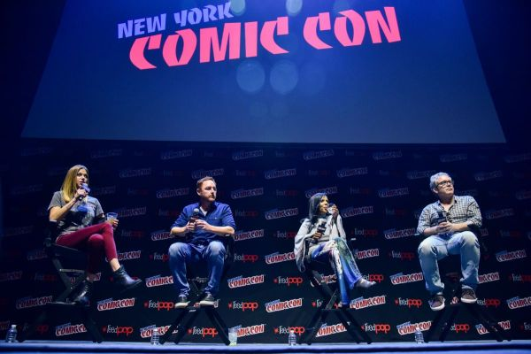 Adrianne Palicki At 'The Orville' panel at New York Comic ...