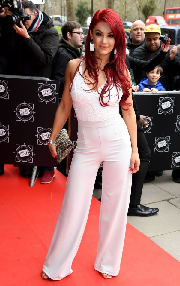 Dianne Buswell At The TRIC Awards, Grosvenor House, London ...