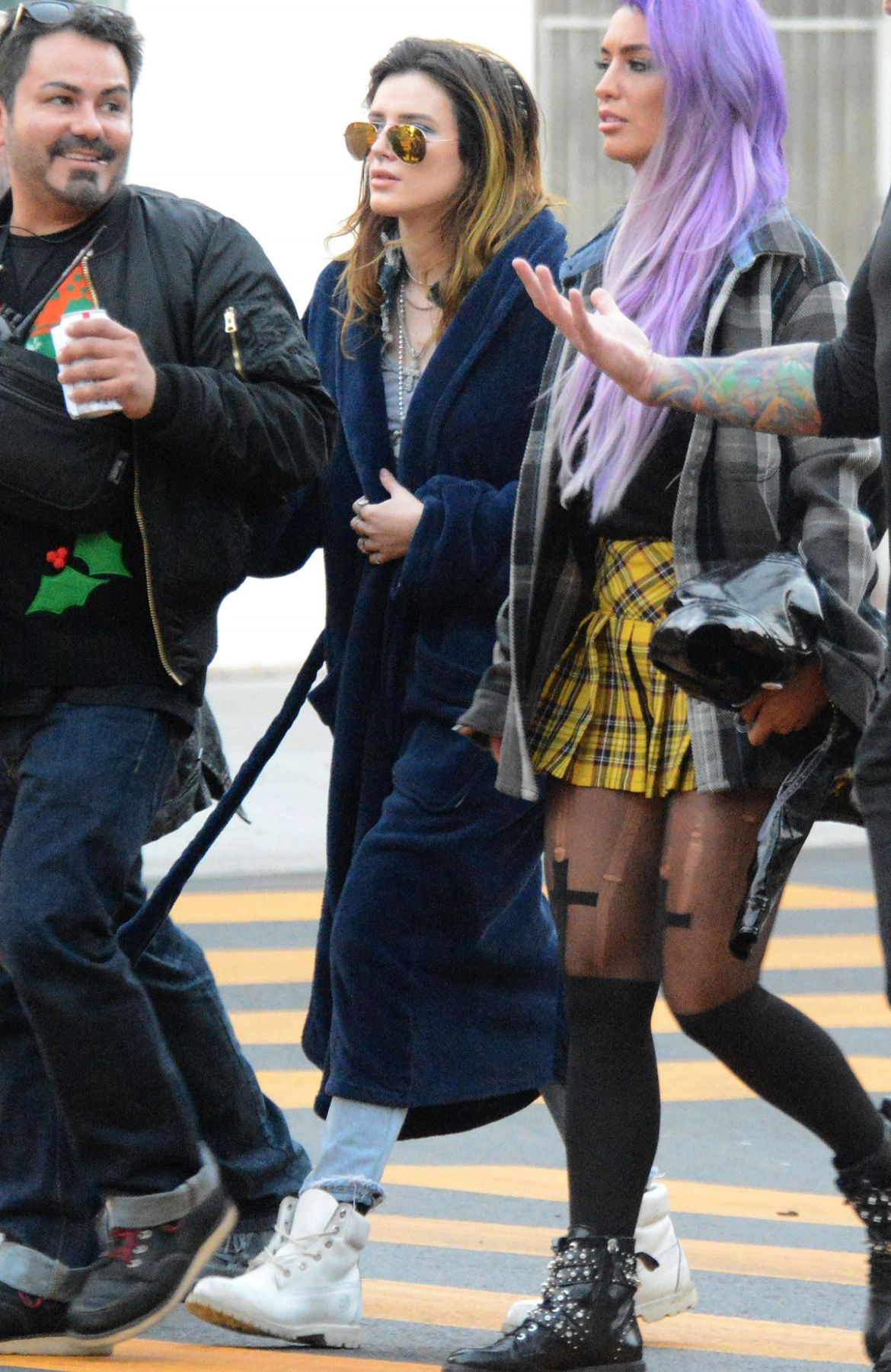 Bella Thorne Out and about in Los Angeles