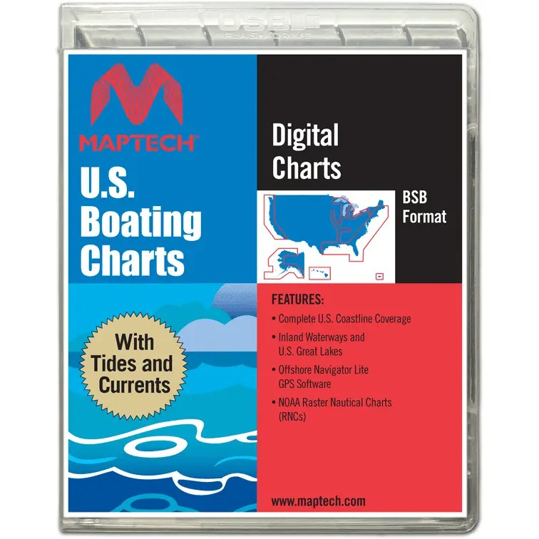 U.S. Boating Charts With Tides And Currents
