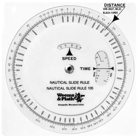 Nautical Slide Rule
