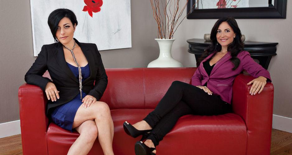 Celeste and Danielle