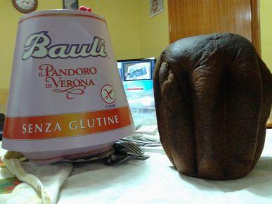 Pandoro Senza Glutine Bauli Bruciato