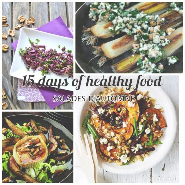 Célia Dreams - 15 Days of Happy Food - salades d'automne