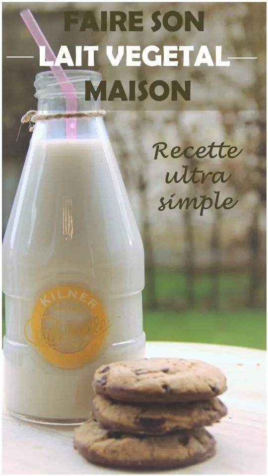 célia Dreams - recette lait végétal maison amande