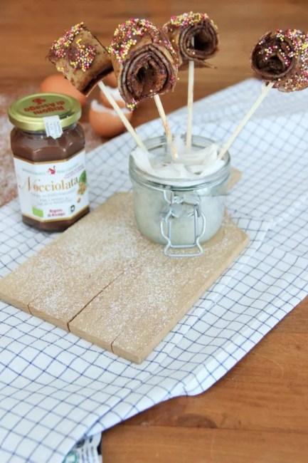 Crêpes sucettes: la meilleure recette ludique et originale, facile et rapide