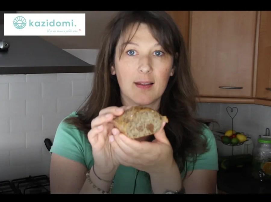 Vidéo Youtube de Célia Dreams: Retour de courses avec Kazidomi: heathy food, recettes & green beauty