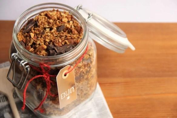 Testez ma recette de granola maison simple et facile à réaliser