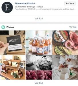 Découvrez Finemarket Distrcit sur Facebook l'eshop belge de produits d'alimentation haut de gamme à petits prix