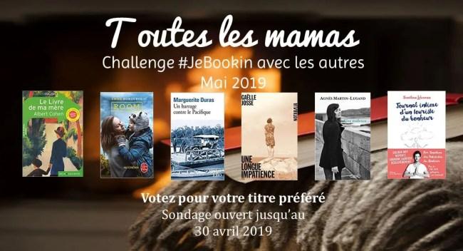 Club de lecture - Sélection mai 2019: toutes les mamas